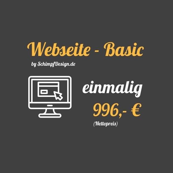 Webseite - Basic (Kaufen)